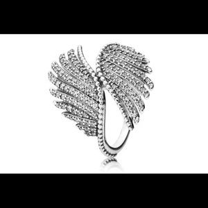 Pandora Majestic Angel Wing Ring